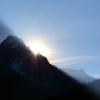 Die Sonne lugt ins Tal