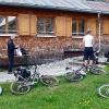 Tour 2: Liteville-Show vor der Hütte