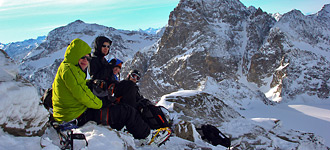 Skitour Jamtal