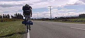 Pioniere auf Klapprädern durch Neuseeland